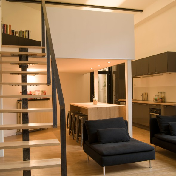 L d int rieur louise delabre agence d 39 architecture d for Photo amenagement interieur maison