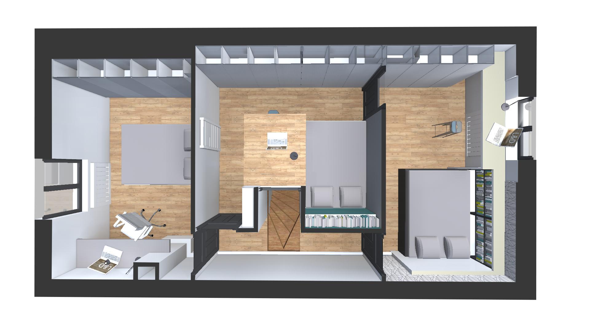 optimisation d espace enfant l d int rieur. Black Bedroom Furniture Sets. Home Design Ideas